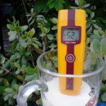 Окислительно-восстановительный потенциал нашего молока - (-52 млв.)